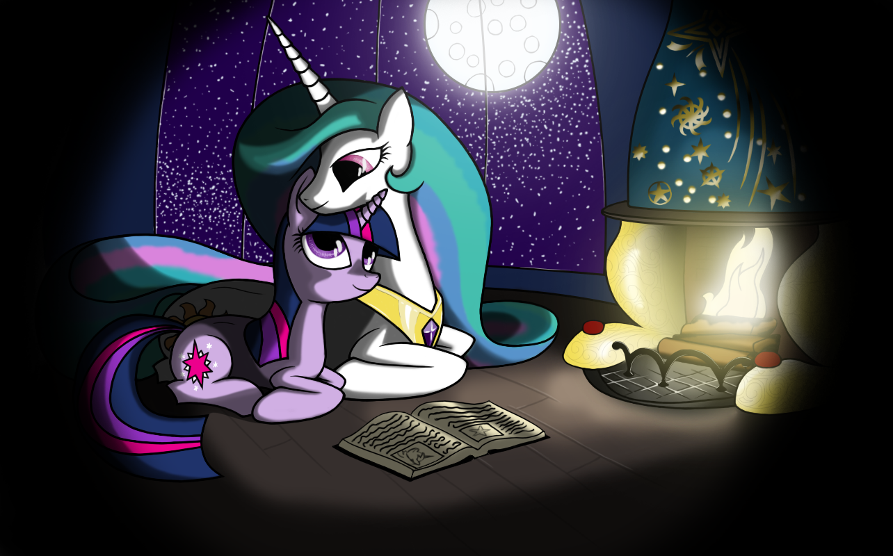 Discover New Magic By The Firelight by redmanepony
