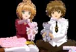 CCS - Sakura  Shaoran - CCS Clear Card Hen