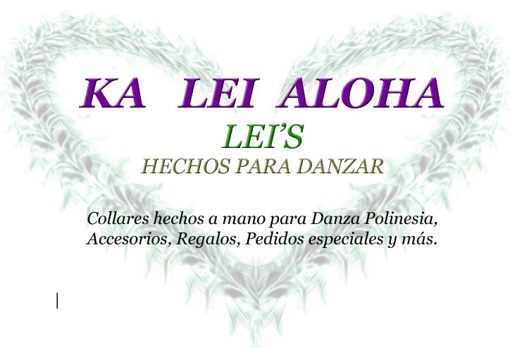 Ka Lei Aloha logo by SilentNatasha