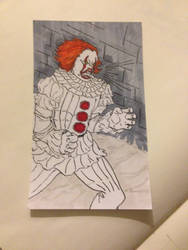 PENNYWISE IN THE SEWERS by Charlesthemore