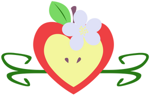 Apple Bloom Cutie Mark by Big-Mac-a-Brony