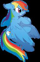 Rainbow Dash ready to fight by Big-Mac-a-Brony