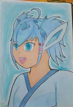Saphira Glaceon Gijinka [Gift]