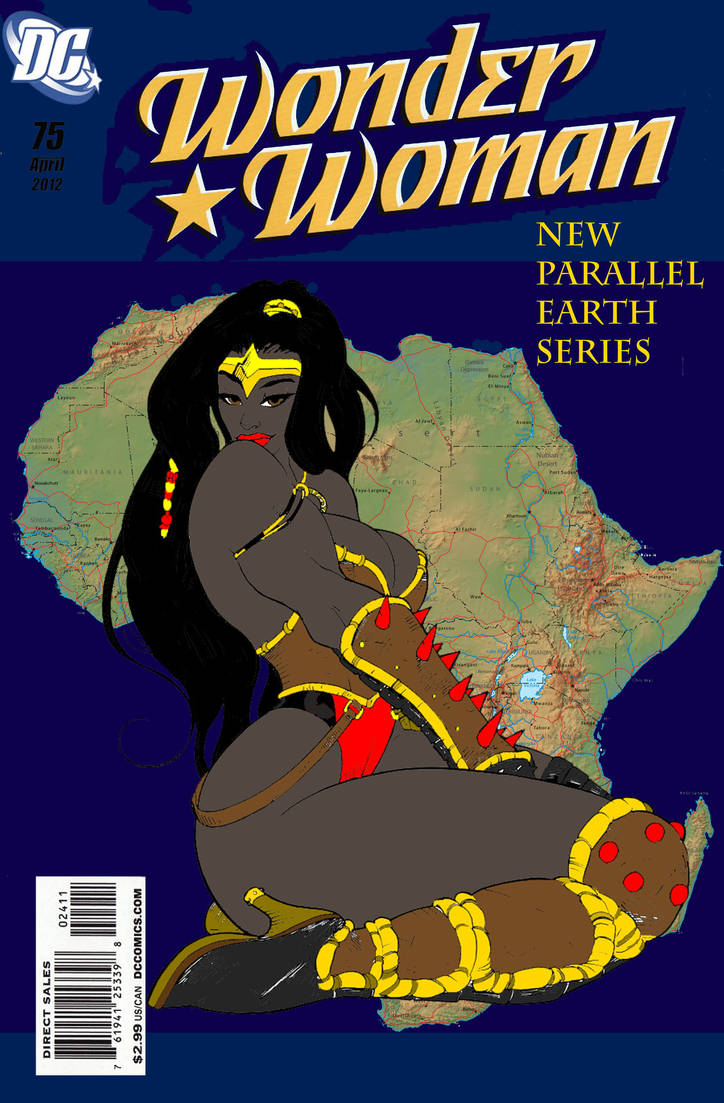 New Parallel Earth Wonder Woman by Ultraviolet-Oasis