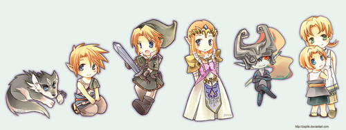 Zelda: Twilight Chibi