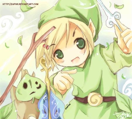 Zelda: Wind God's Aria LOL by Zaphk