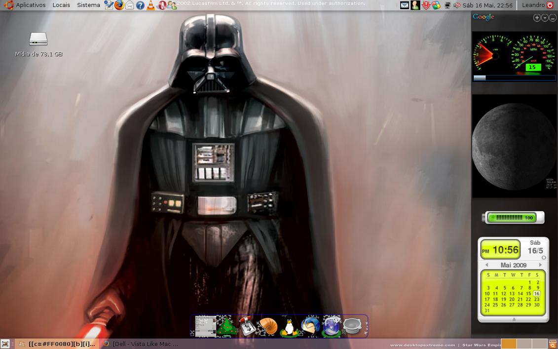 Darth Vader by leandrorramos