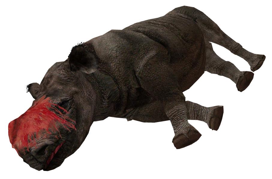 Zt2 Poached Rhinoceros By Scottslive21 On Deviantart