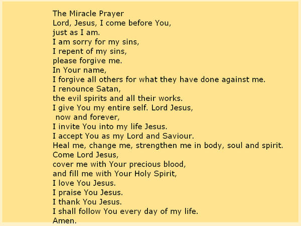 The Miracle Prayer by kuzazix on DeviantArt