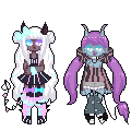 [c] - cthonicsquid [tiny Pixel Dolls] by hello-planet-chan