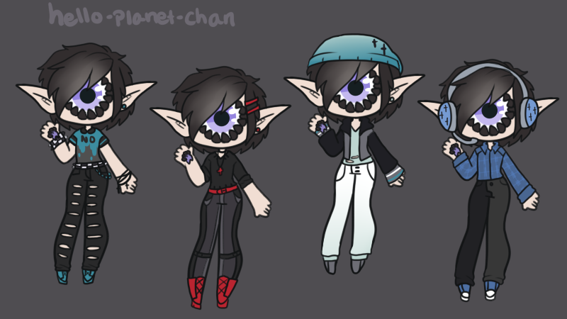 Outfit set - Gerard by hello-planet-chan