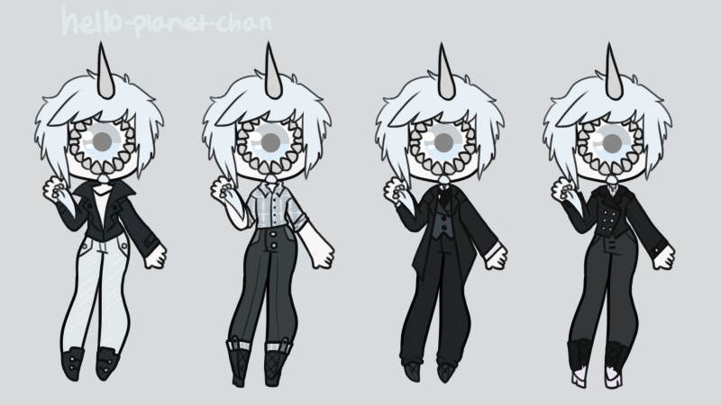 Outfit set - Lionel by hello-planet-chan