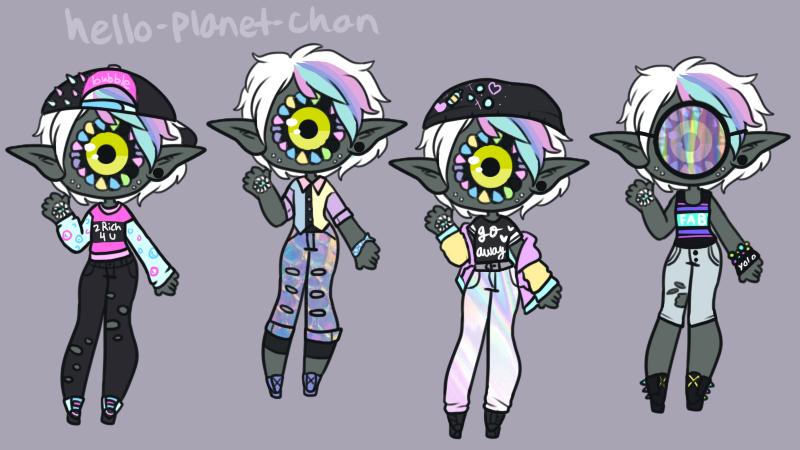 Outfit set - Channing by hello-planet-chan