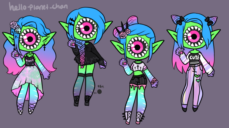 Outfit set - Pai by hello-planet-chan