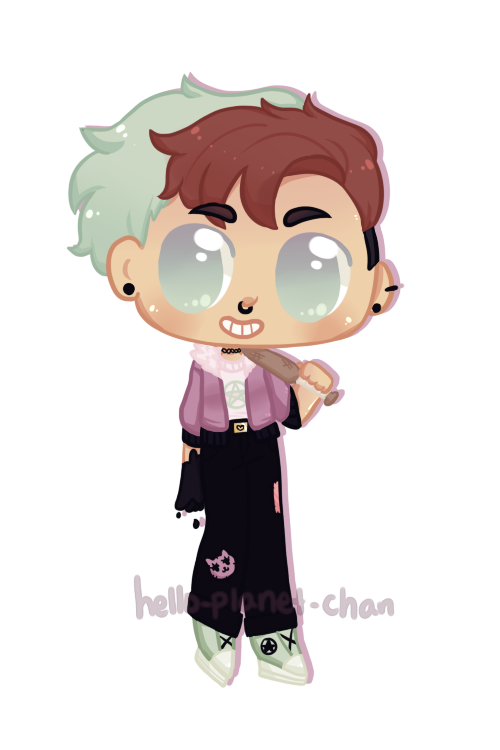 [CHIBI] - queenicakes by hello-planet-chan
