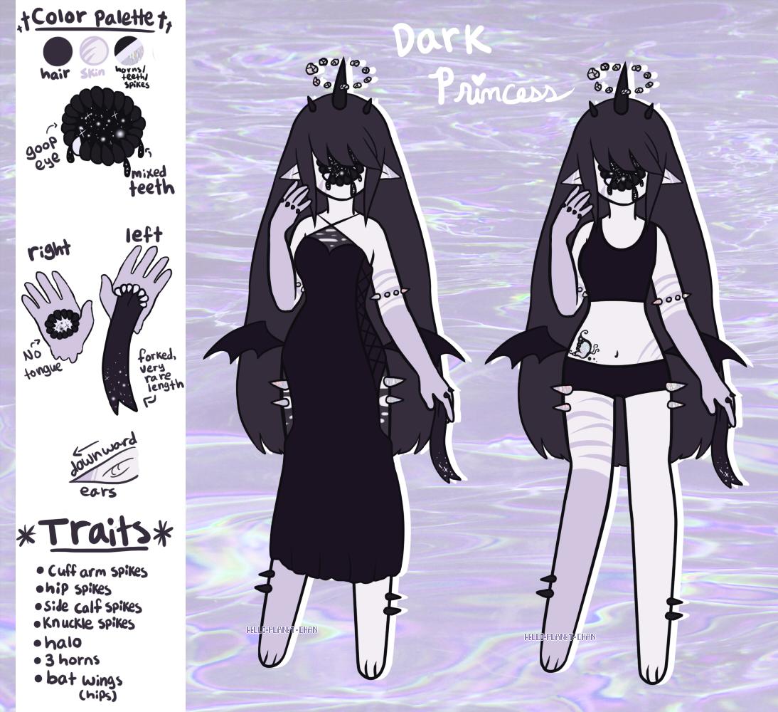 Xynthii Adopt - Dark Princess [CLOSED] by hello-planet-chan