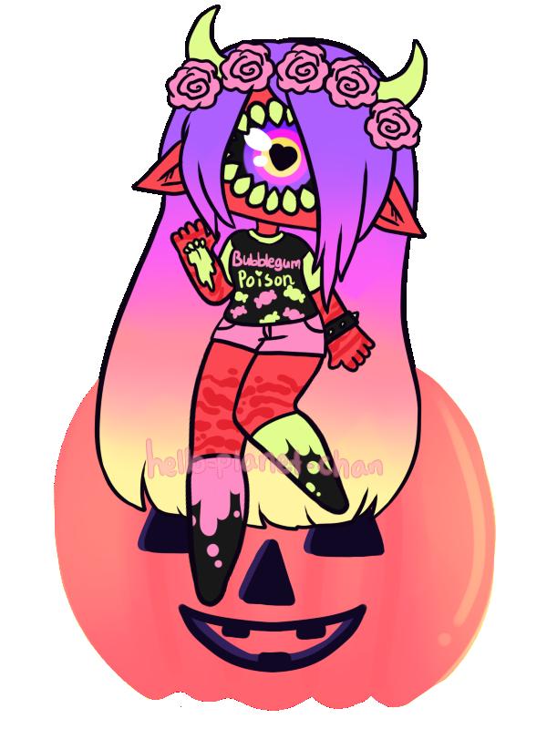 [Pumpkin] - KyaKlutz by hello-planet-chan