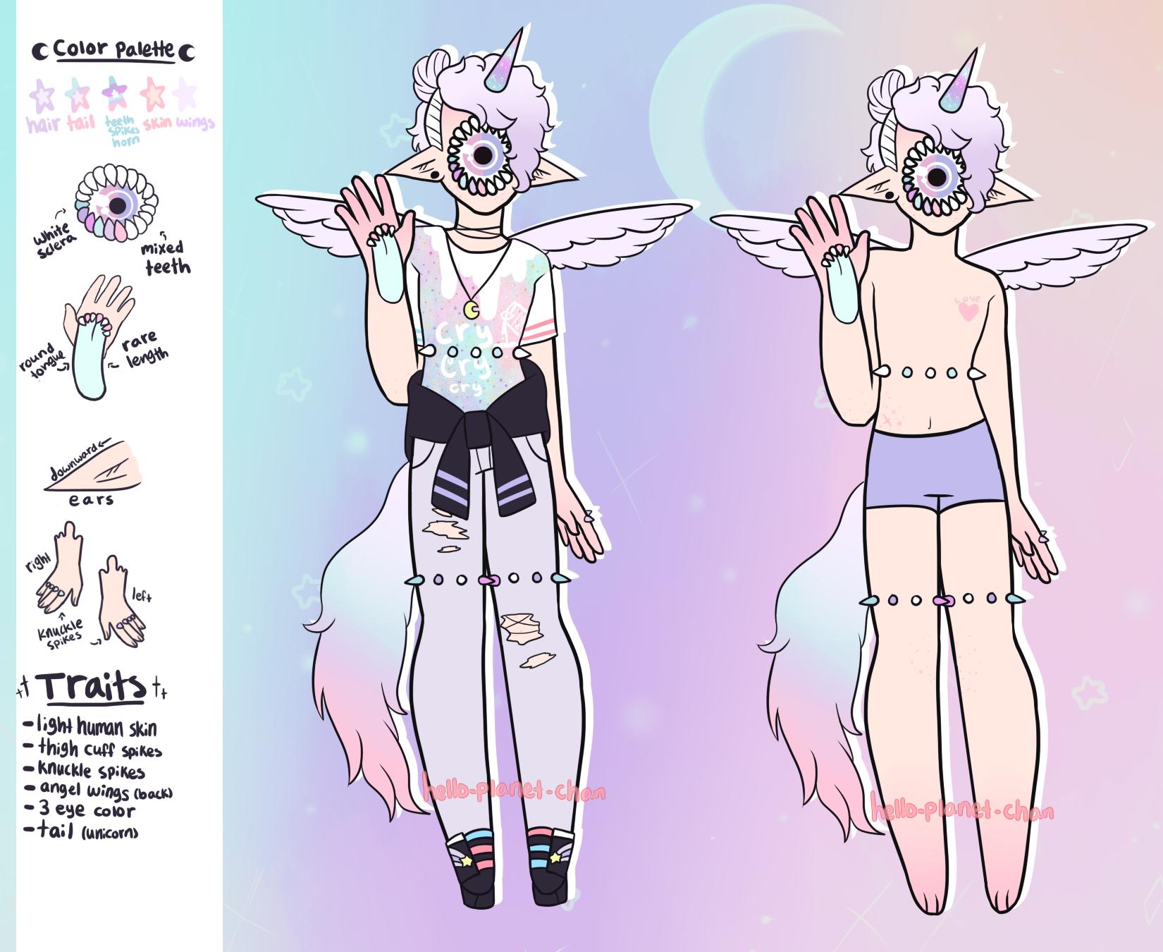 November Adopt - Unicorn boy [closed] by hello-planet-chan