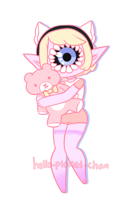 [Plush] - Sweet-Psych by hello-planet-chan