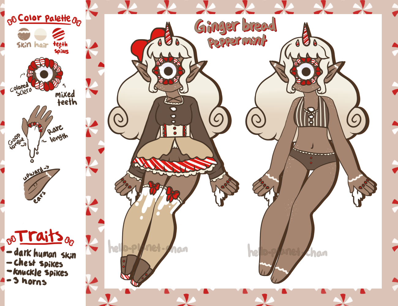 December Adopt - Gingerbread [closed] by hello-planet-chan