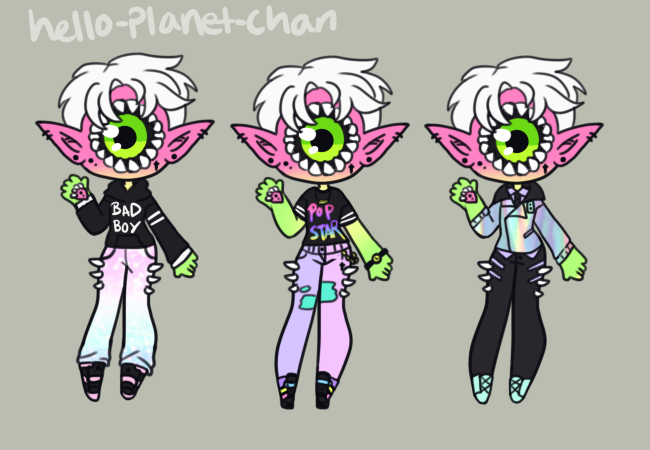 [outfit set] - Xenobaby [2/2] by hello-planet-chan