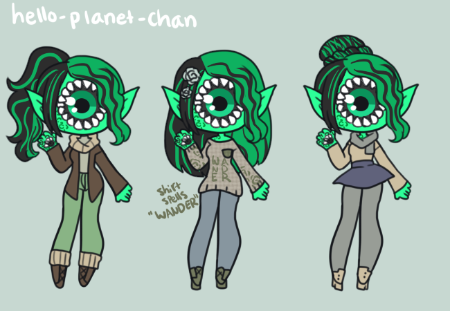 [outfit set] - DestroyedChildhood [2/2] by hello-planet-chan