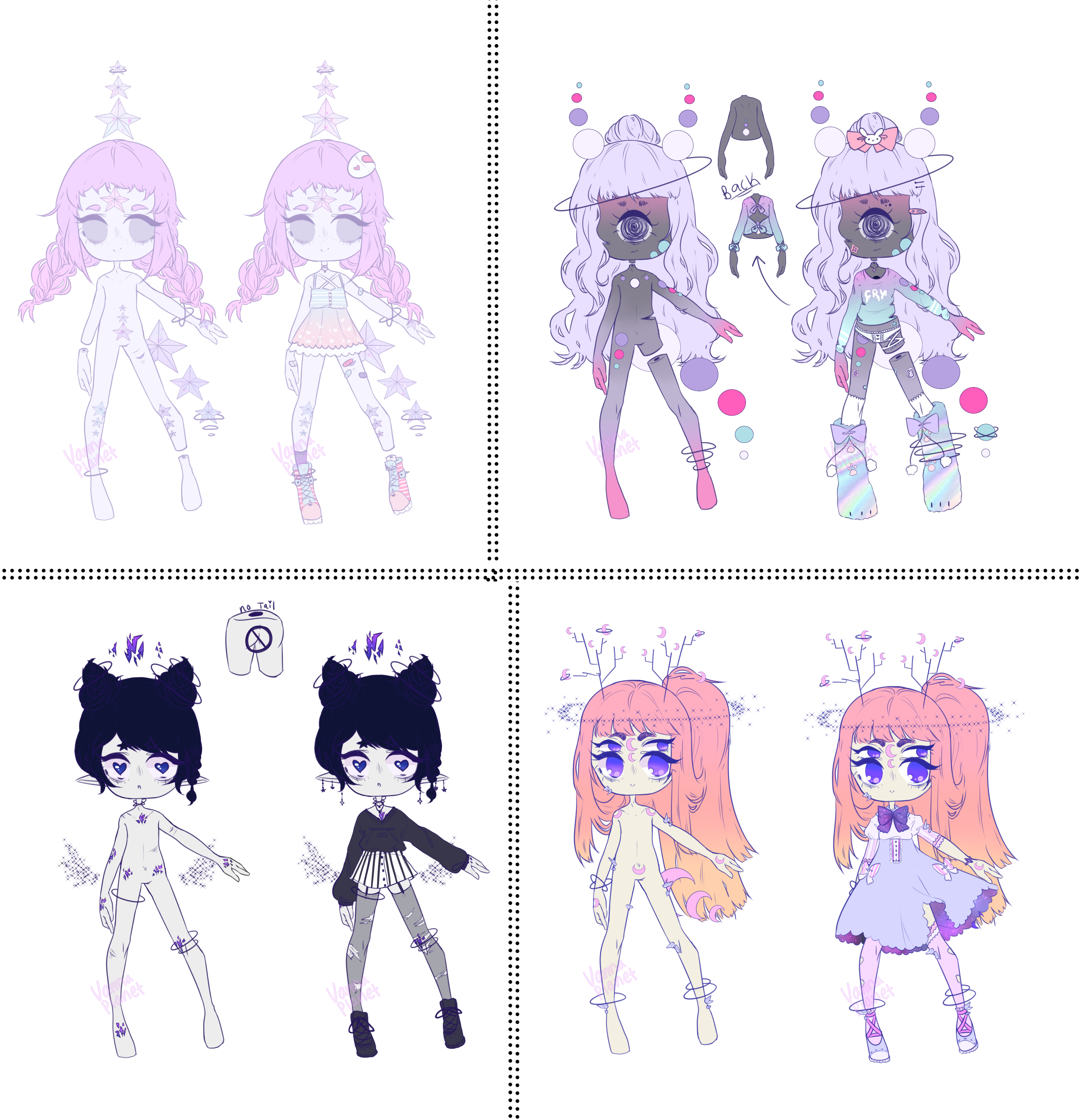 VannaPlanet Nebuli Adopts - [2/4 OPEN] by hello-planet-chan