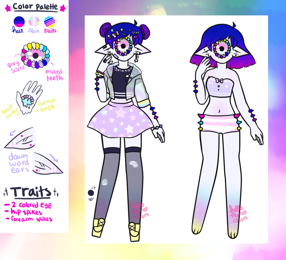 January Adopt - Color POP [closed] by hello-planet-chan