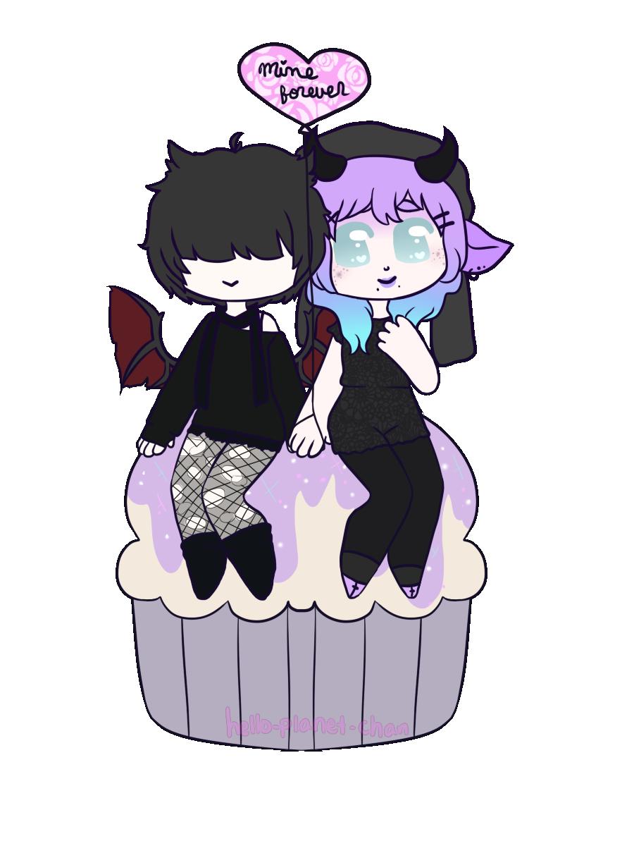 [cupcake] - NerdyKing by hello-planet-chan