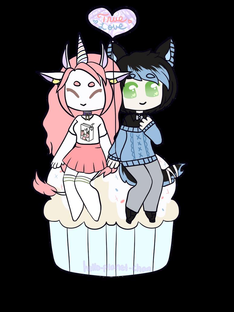 [cupcake] - Grim-Creeper by hello-planet-chan