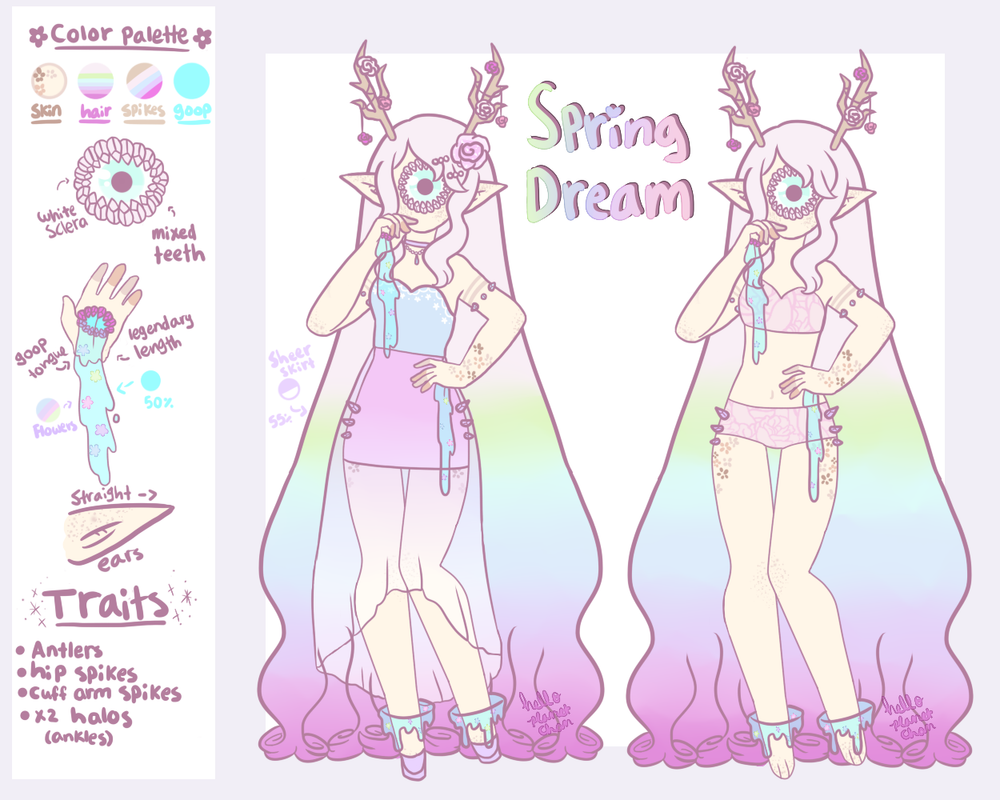 Spring Dream Xynthii [ON HOLD] by hello-planet-chan