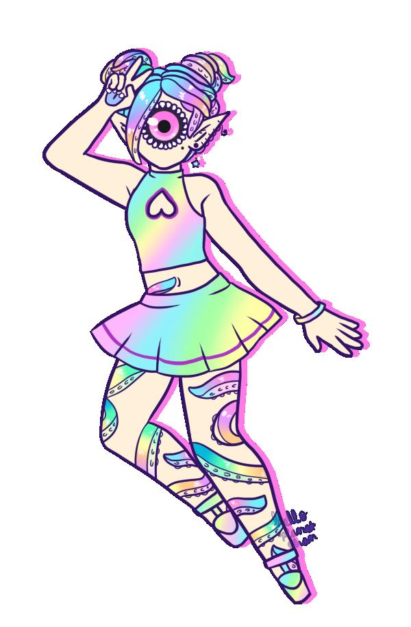 [ rainbow splash ] by hello-planet-chan