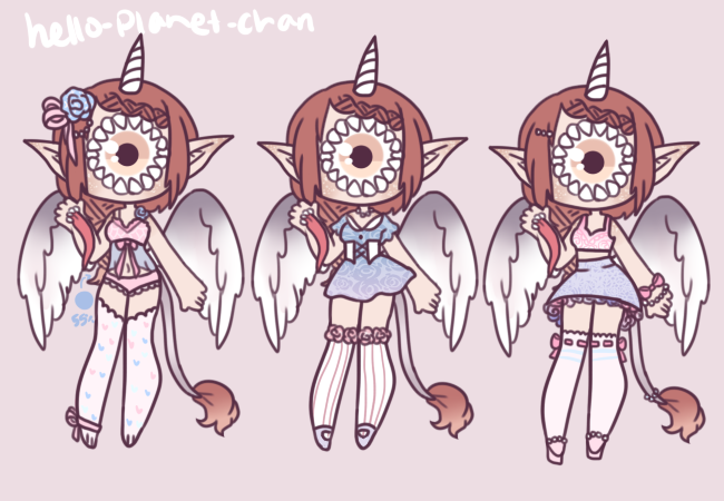 [outfit set] - Bunniicakes by hello-planet-chan