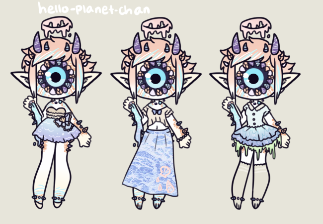 [outfit set] - Bluejaybae [2] by hello-planet-chan