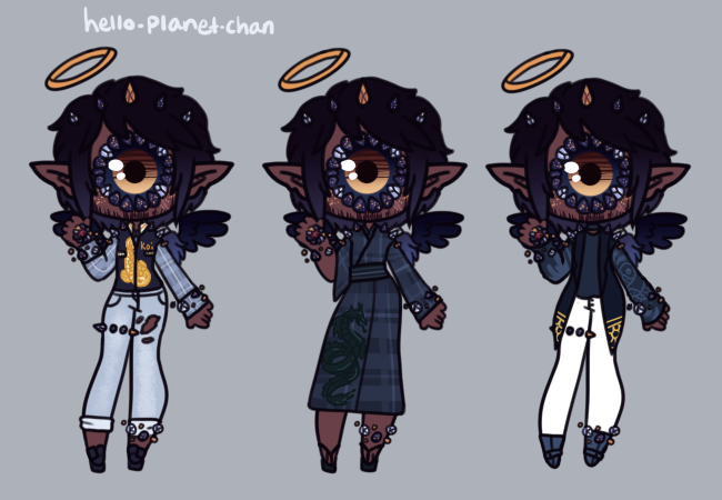 [outfit set] - BluejayBae [3] by hello-planet-chan