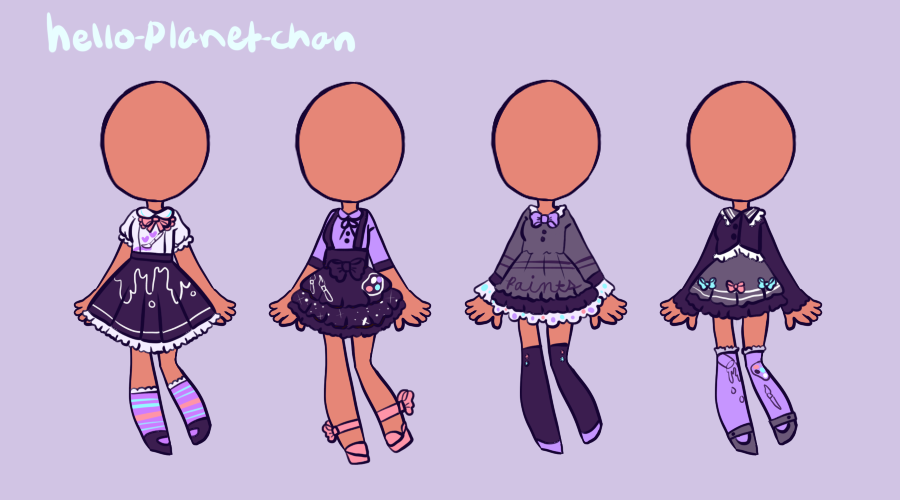 [outfit set] - Fawntastic1997 by hello-planet-chan