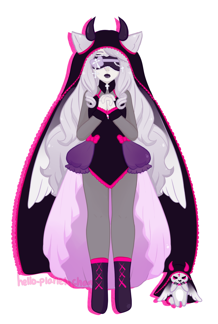 [fullbody] - cthonicsquid by hello-planet-chan