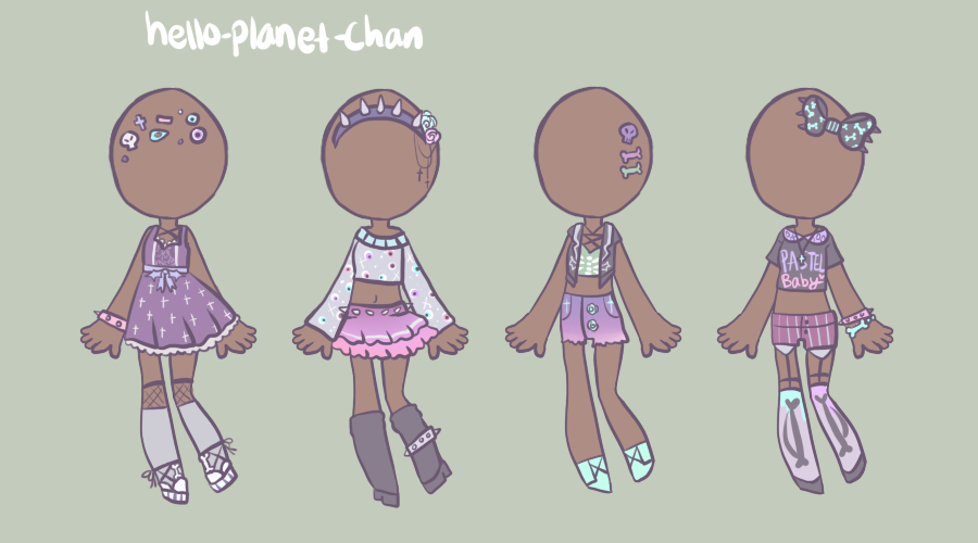 [outfit set] - by-MK [2/2] by hello-planet-chan