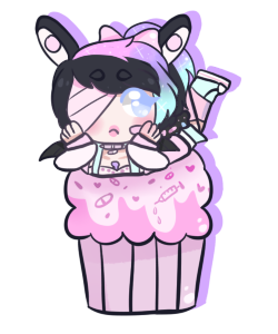 [Cupcake dream] - Lunathyst by hello-planet-chan