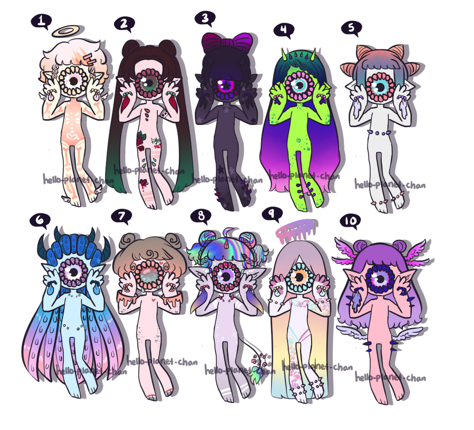 November Batch - cyber monday [CLOSED] by hello-planet-chan