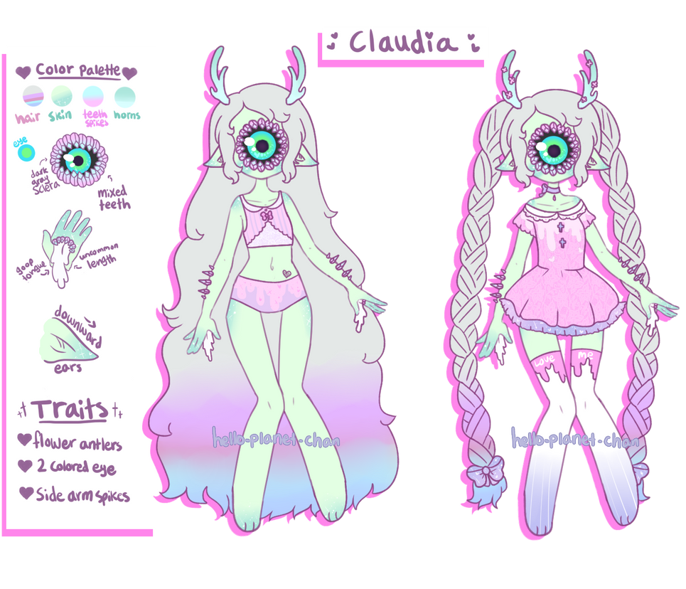 [ Claudia ] by hello-planet-chan