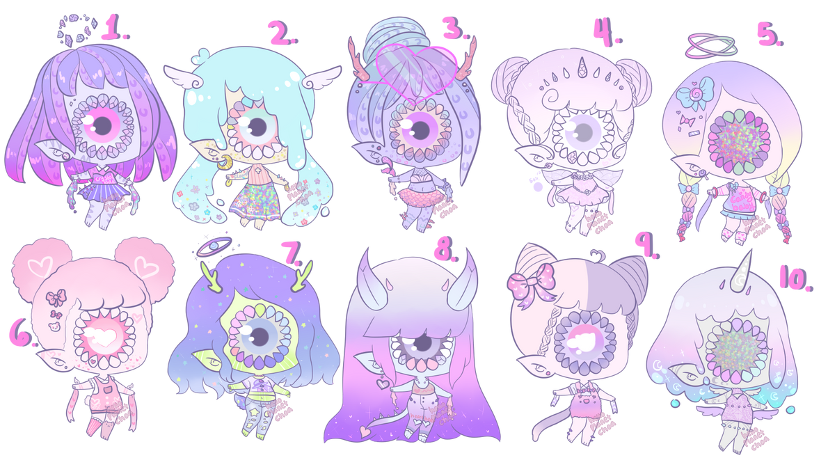 Pastel Xynthii batch [closed] by hello-planet-chan