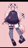 [ Cross Goth Lolita ]