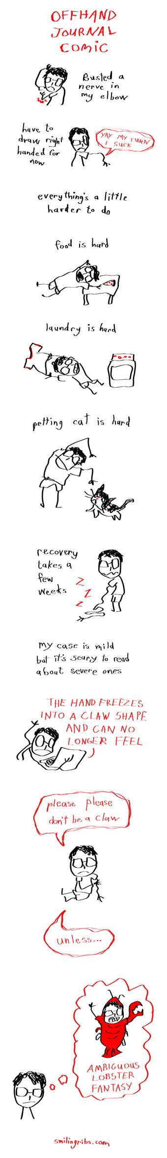 Offhand Journal Comic by inkblort