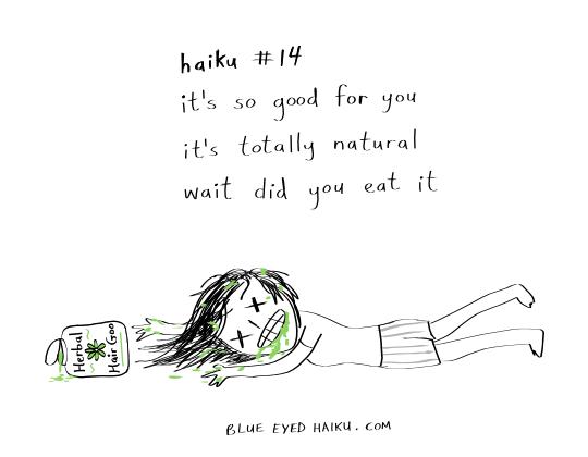 haiku 14 (all natural) by inkblort