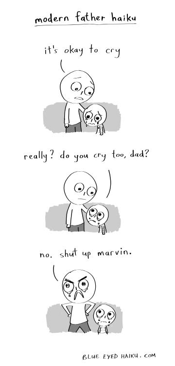 modern father haiku by inkblort