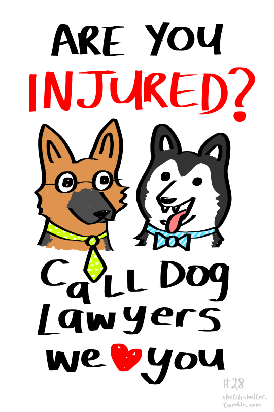 doodle request 28: dogs wearing ties by inkblort