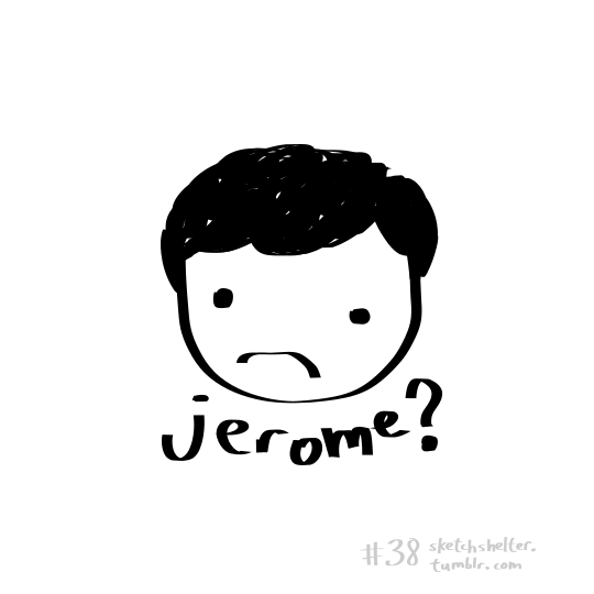 doodle request 38: jerome by inkblort