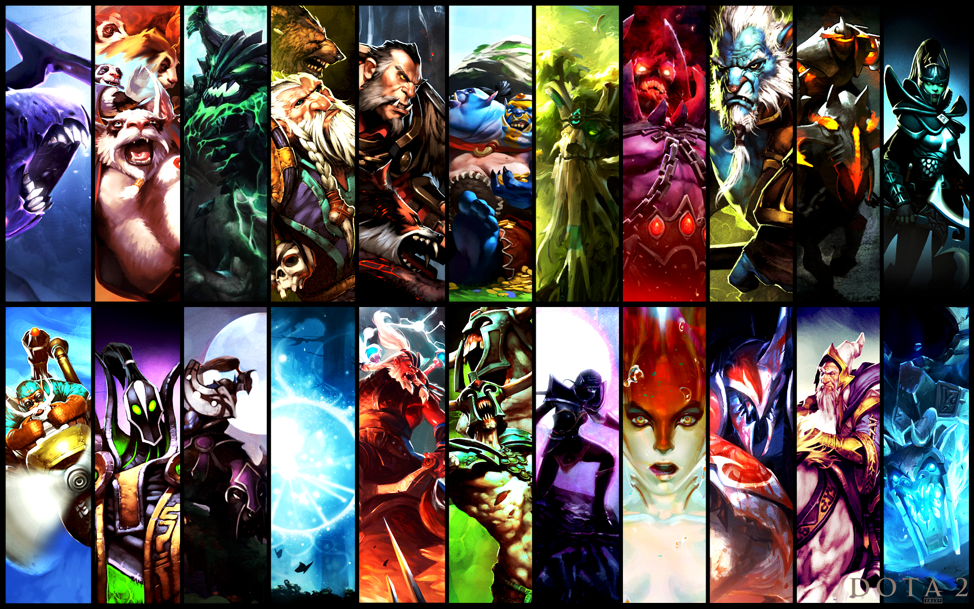 dota 2 heroes gallery ii by mizuriart on deviantart