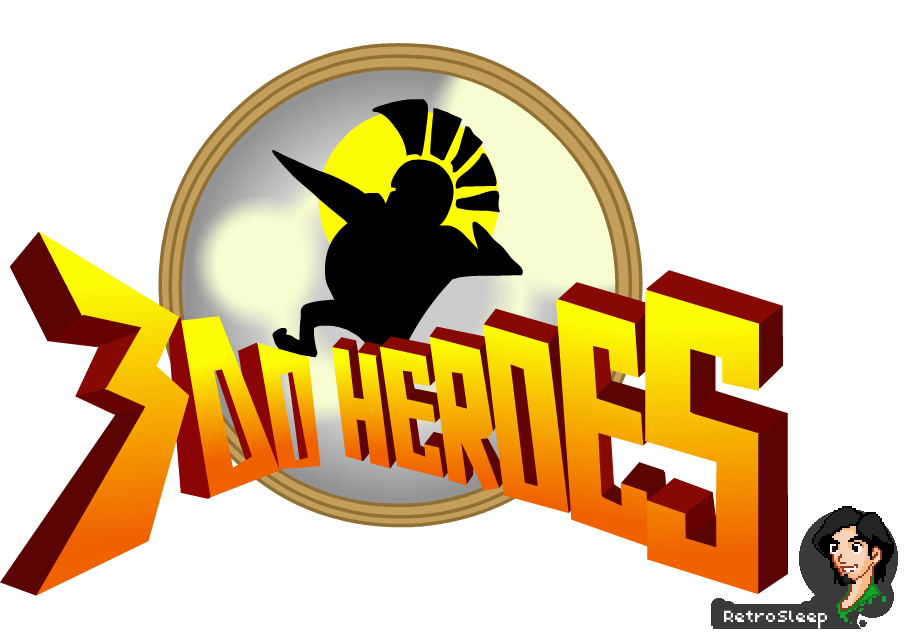 300 Heroes English Logo by RetroSleep ...